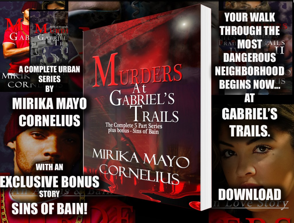 Murders at Gabriel's Trails by Mirika Mayo Cornelius